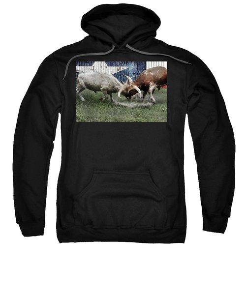 Texas Bull Fight  Sweatshirt