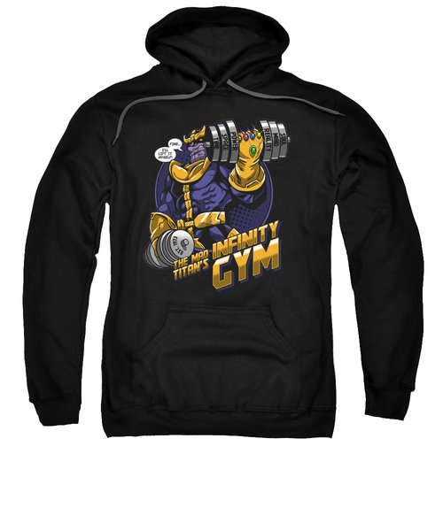 Thanos Comics Gym Workout  Sweatshirt
