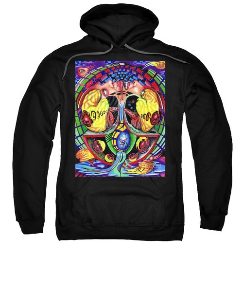 The Abduction Of A Foreign Mind Sweatshirt