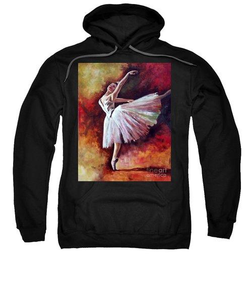 The Dancer Tilting - Adaptation Of Degas Artwork Sweatshirt