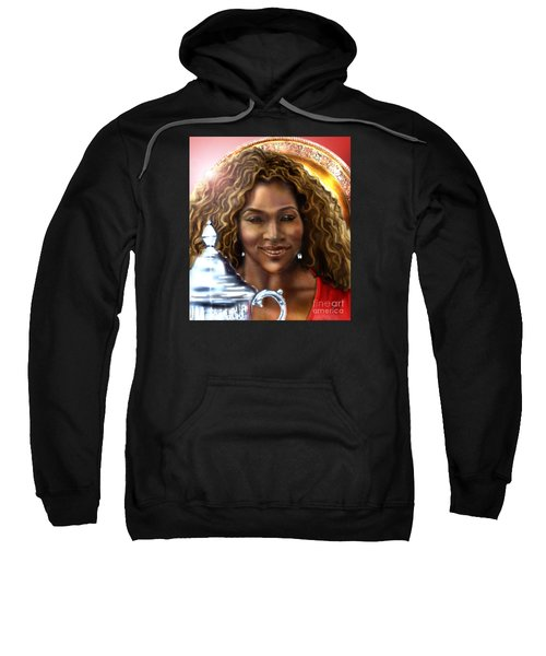 The Beauty Victory That Is Serena Sweatshirt by Reggie Duffie