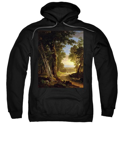 The Beeches By Asher Brown Durand Sweatshirt