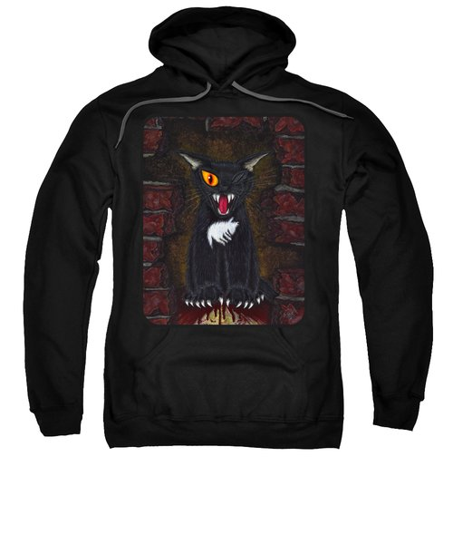 The Black Cat Edgar Allan Poe Sweatshirt