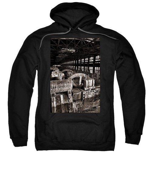 The Blower House At Bethlehem Steel  Sweatshirt