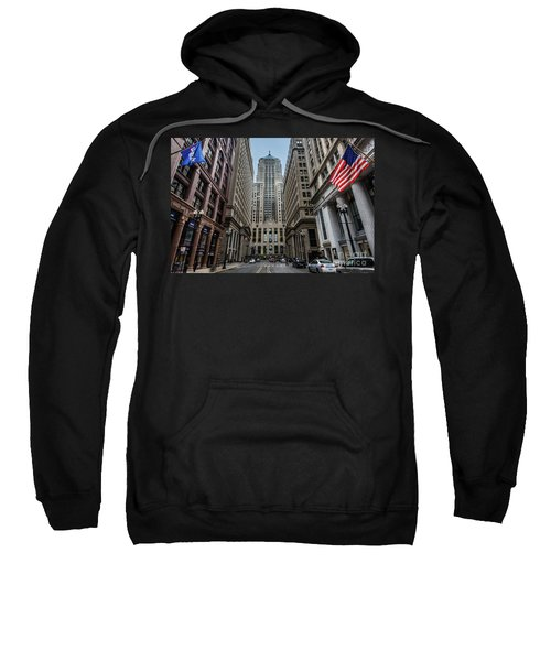 The Canyon In The Financial District Sweatshirt