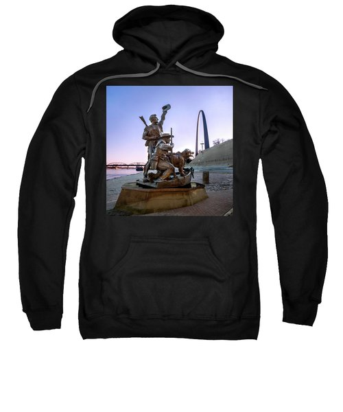 The Captain Returns With Arch Sweatshirt