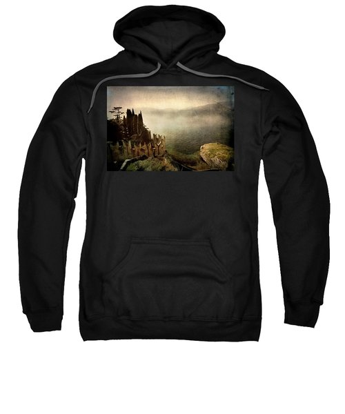 The Castle On The Lake. Malcesine Sweatshirt