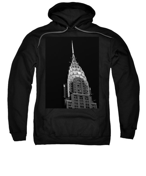 The Chrysler Building Sweatshirt by Vivienne Gucwa