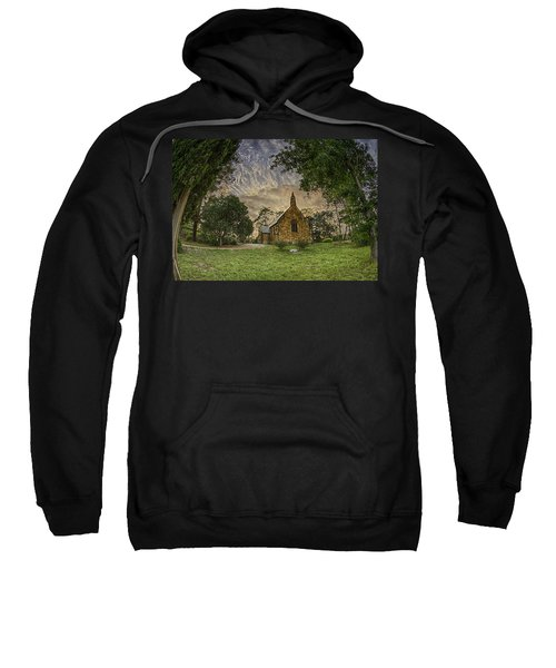 Sweatshirt featuring the photograph The Church by Chris Cousins