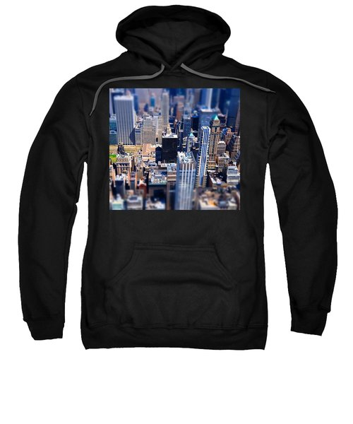 The City  Sweatshirt by Mckenzie Weldon