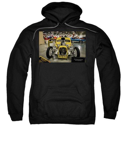 Sweatshirt featuring the photograph The Devils Beast by Randy Scherkenbach