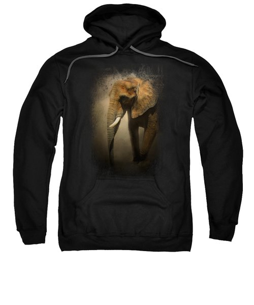 The Elephant Emerges Sweatshirt by Jai Johnson