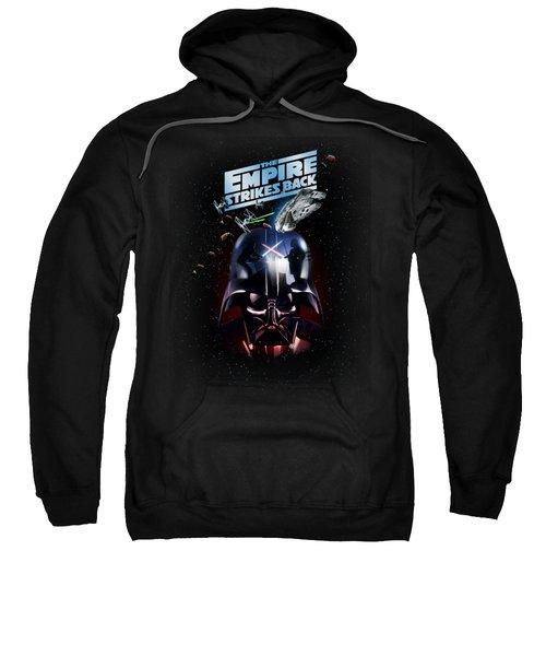 The Empire Strikes Back Sweatshirt by Edward Draganski