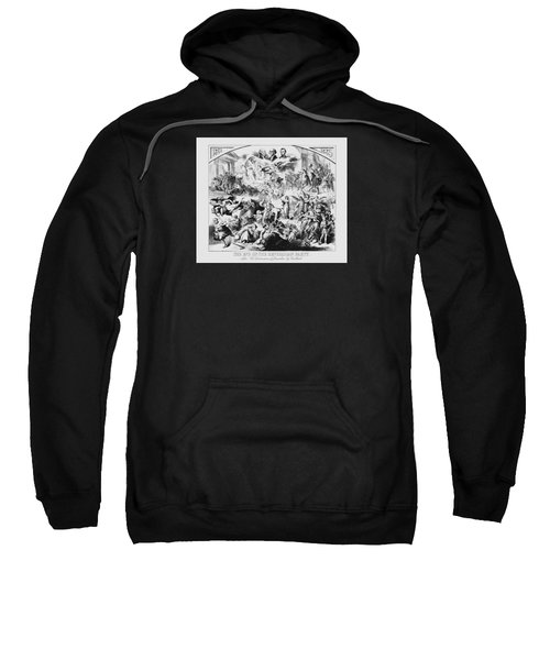 The End Of The Republican Party Sweatshirt by War Is Hell Store