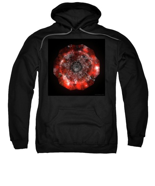 The Eye Of Cyma - Fire And Ice - Frame 49 Sweatshirt