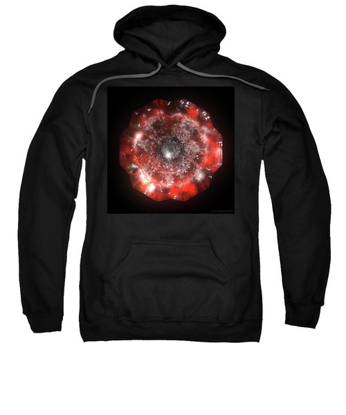The Eye Of Cyma - Fire And Ice - Frame 50 Sweatshirt