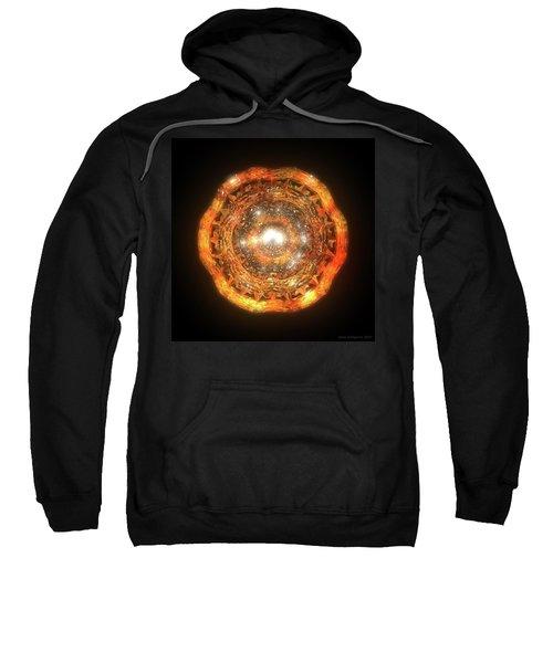 The Eye Of Cyma - Fire And Ice - Frame 7 Sweatshirt