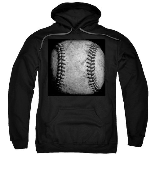 Sweatshirt featuring the photograph The Fastball by David Patterson