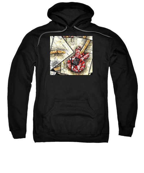 The Frankenstrat Sweatshirt by Gary Bodnar