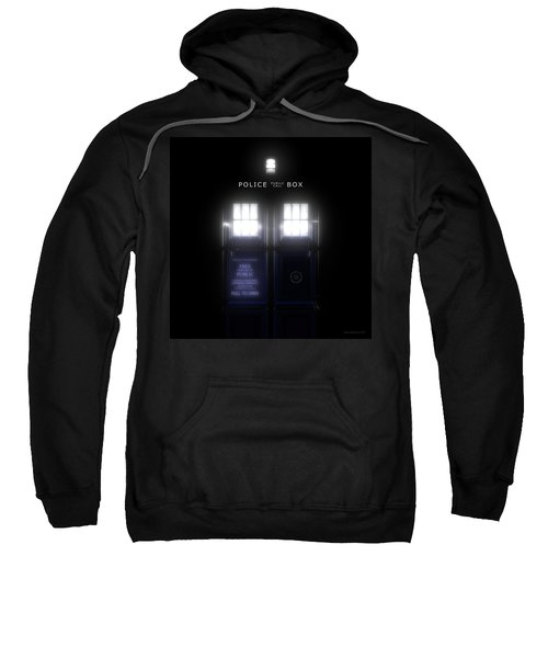 The Glass Police Box Sweatshirt