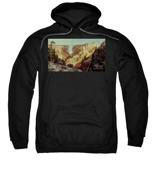 The Grand Canyon Of The Yellowstone Sweatshirt by Thomas Moran