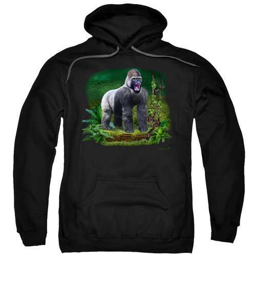 The Guardian Of The Rain Forest Sweatshirt by Glenn Holbrook