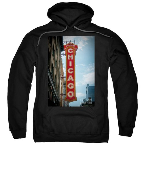 The Iconic Chicago Theater Sign Sweatshirt