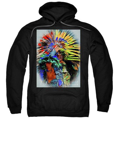 The Indian At Dolores Hidalgo Sweatshirt
