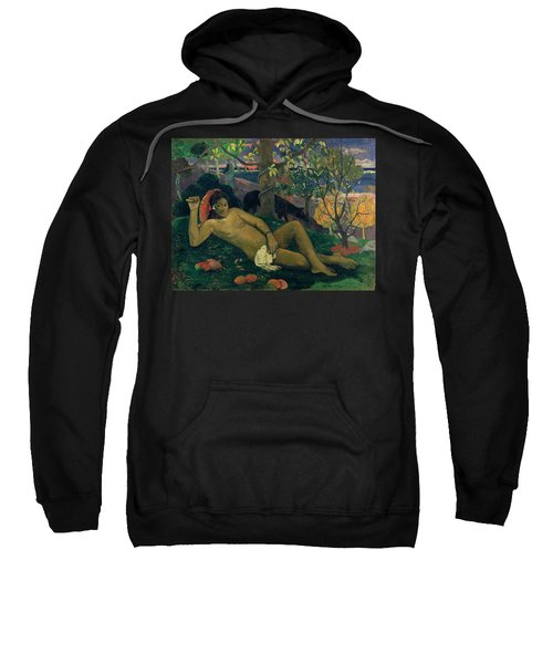The Kings Wife Sweatshirt by Paul Gauguin