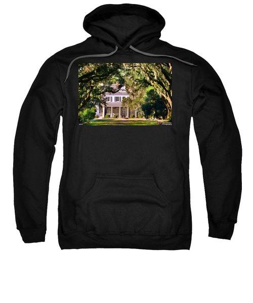 The Legare-waring House At Charles Town Landing Sweatshirt