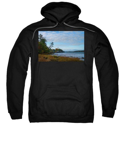 The Maine Coast Near Edgecomb  Sweatshirt