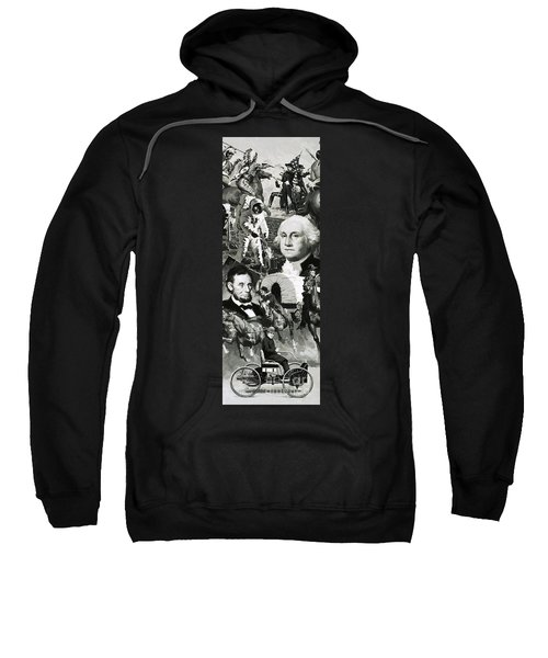 The Making Of America Montage Sweatshirt