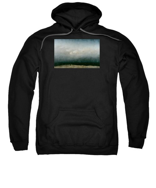 Monk By The Sea  Sweatshirt