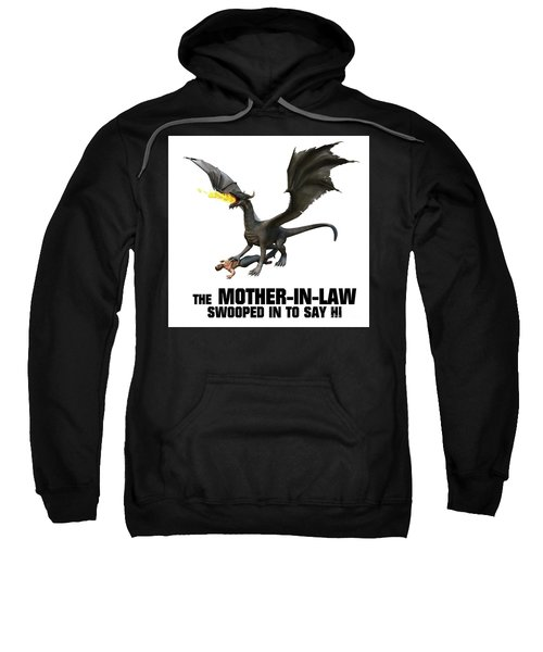 The Mother-in-law Swooped In To Say Hi Sweatshirt
