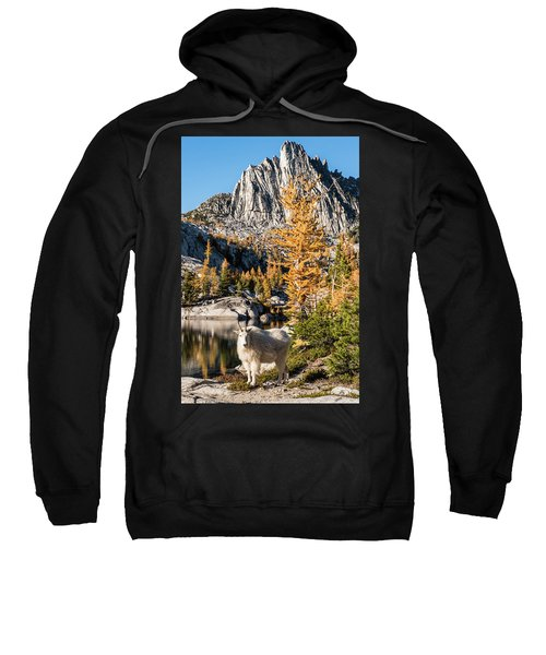 The Mountain Goat In The Enchantments Sweatshirt