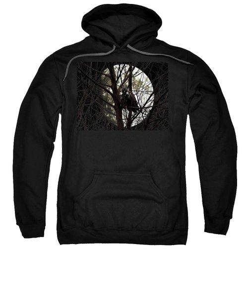 The Night Owl And Harvest Moon Sweatshirt