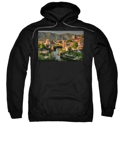 The Old Bridge Of Mostar  Sweatshirt