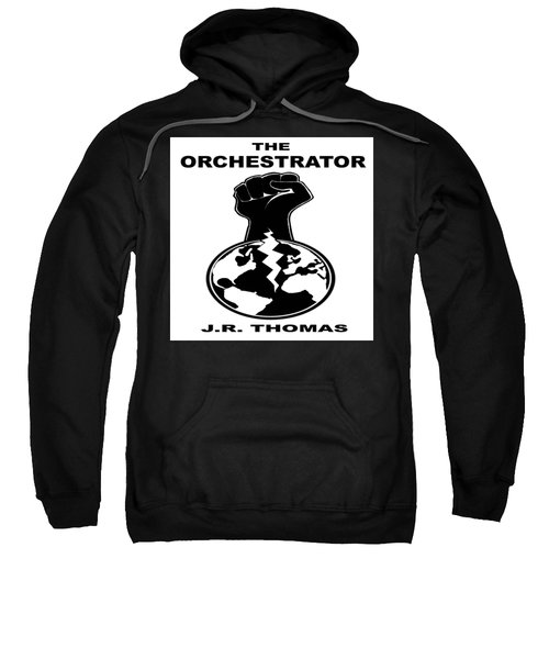 Sweatshirt featuring the digital art The Orchestrator Cover by Jayvon Thomas