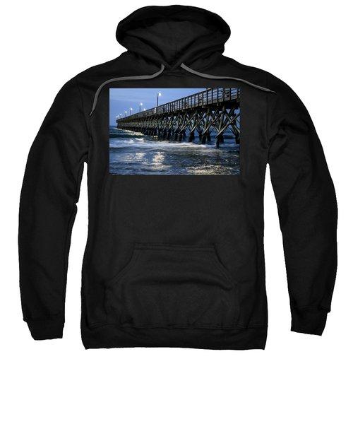 The Pier At The Break Of Dawn Sweatshirt