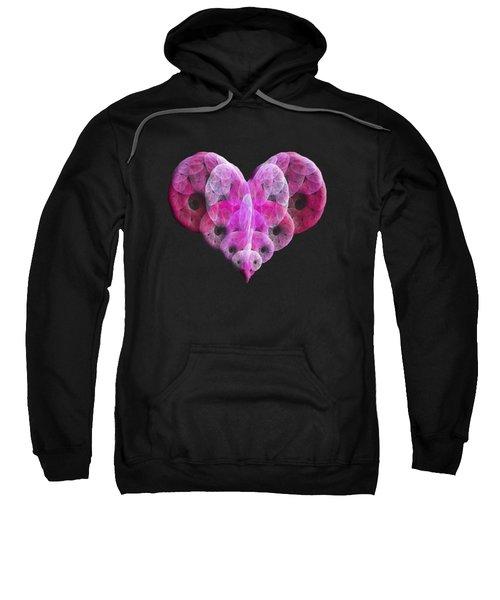 The Pink Heart Sweatshirt