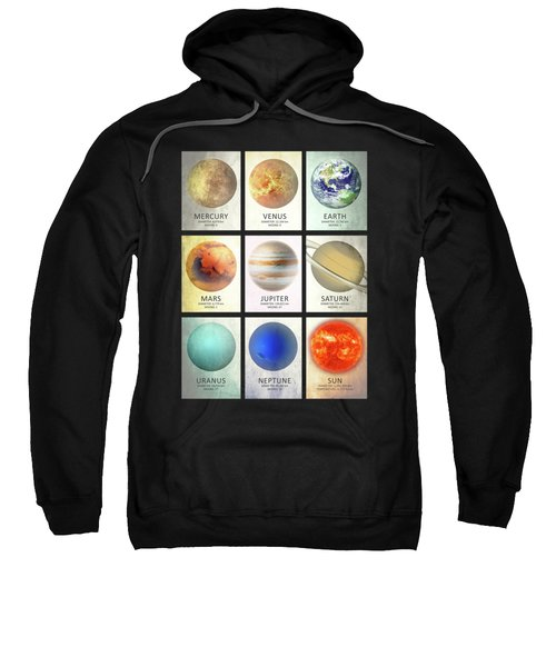 The Planets Sweatshirt by Mark Rogan