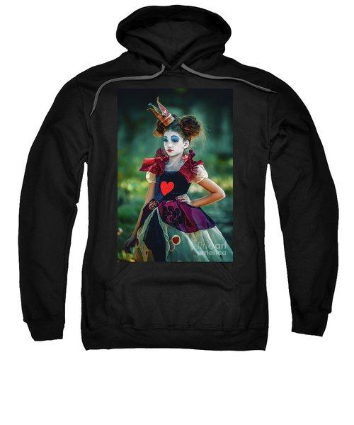 The Queen Of Hearts Alice In Wonderland Sweatshirt