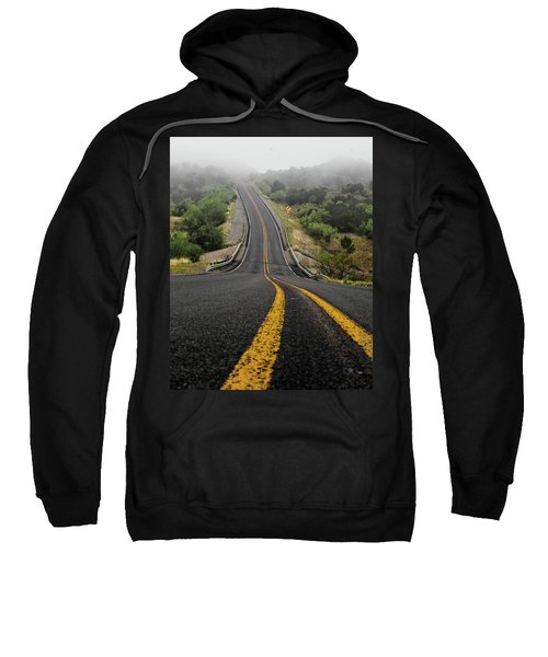 The Road Goes On Forever And The Party Never Ends Sweatshirt