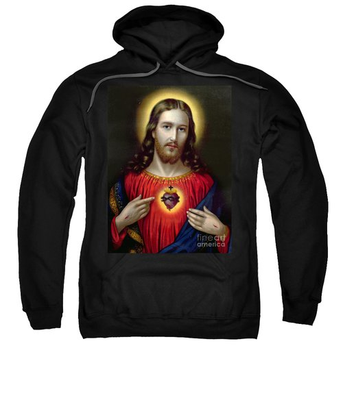 The Sacred Heart Of Jesus Sweatshirt