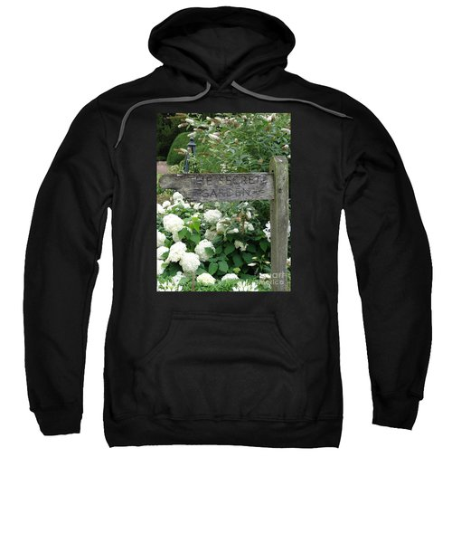 The Secret Garden Sign Sweatshirt