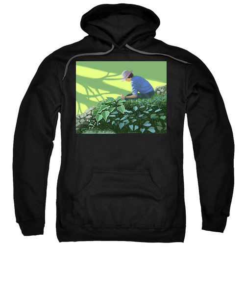 The Solace Of The Shade Garden Sweatshirt