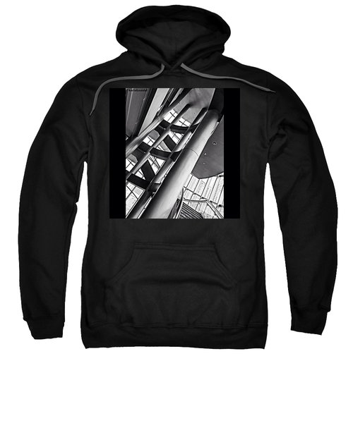 The #stairway In Our #downtown #houston Sweatshirt