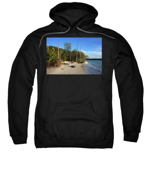 The Unspoiled Beauty Of Barefoot Beach In Naples - Landscape Sweatshirt