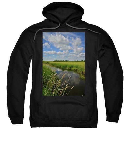 The Wetlands Of Hackmatack National Wildlife Refuge Sweatshirt