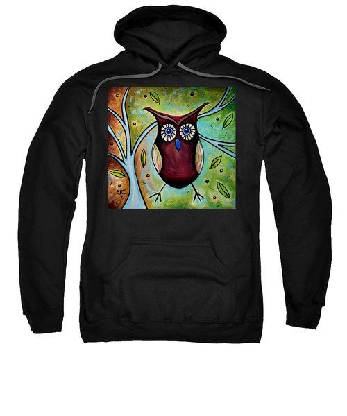 The Whimsical Owl Sweatshirt